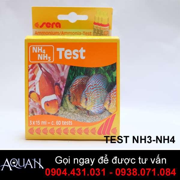 TEST NH4/NH3 SERA -Kiểm Tra hàm lượng Amonium / Amonia