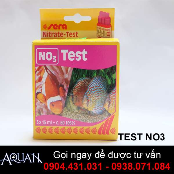 TEST NO3 -Kiểm tra Nitrate