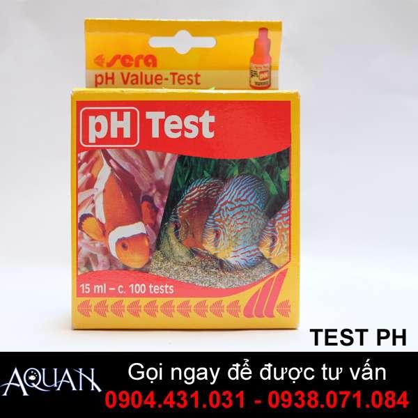Kiểm Tra Độ PH - PH TEST SERA