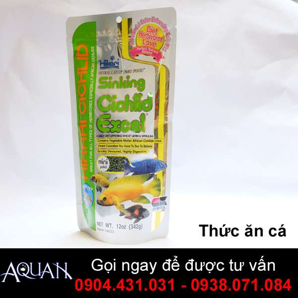 Thức Ăn Cá Ali -SINKING CICHLID EXCEL-342G