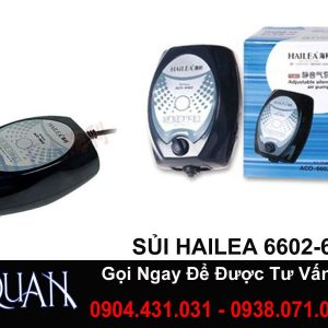 Máy Sủi Chạy Êm 2 Vòi HAILEA ACO-6604