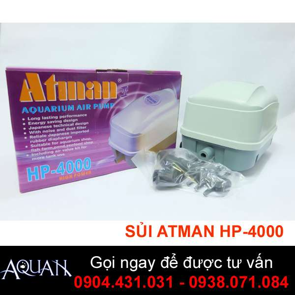 Máy sủi Atman HP4000