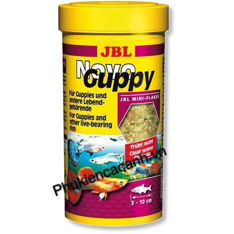 Thức ăn JBL NovoGuppy - Thức ăn cá bảy màu
