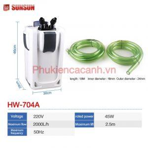 Lọc thùng Sun Sun HW 704a